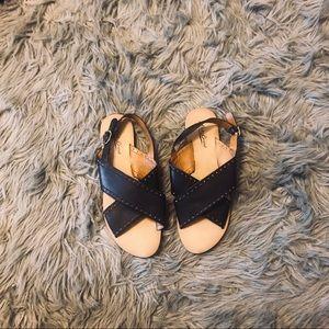 LUCKY BRAND Black Sandal Size 8